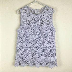 [Nanette Lepore] NWT Lilac Purple Sleeveless Top